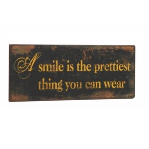 A smile is the......