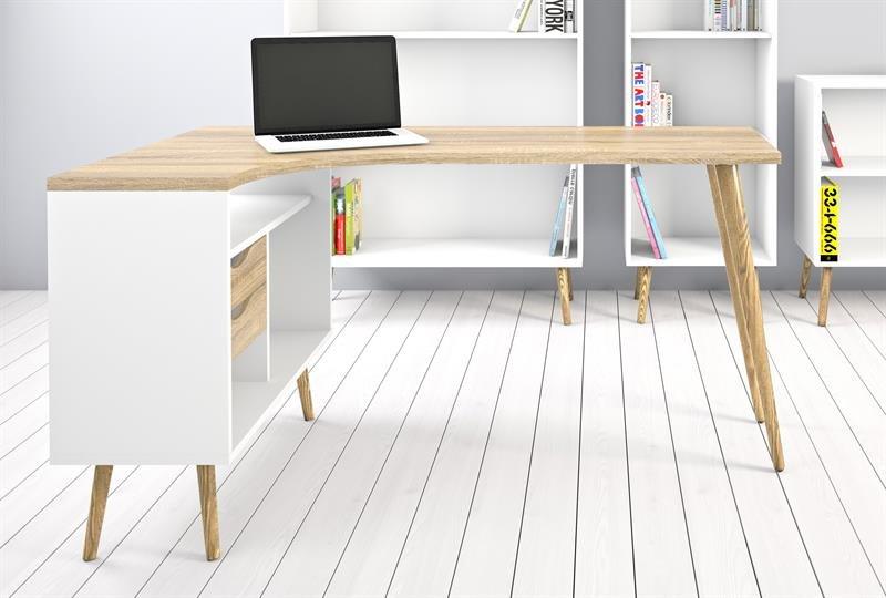 Opprinnelig Dolphin skrivebord med skuffer JN-96