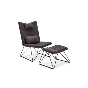 Como Lounge Chair - Sort