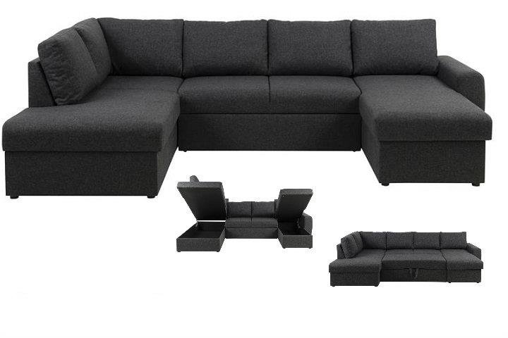 wilcox u sofa med soveudtr k. Black Bedroom Furniture Sets. Home Design Ideas