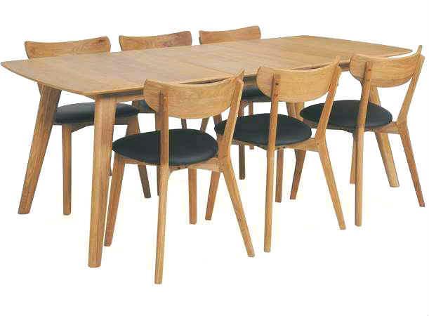Alle nye Royal oak - lille spisebord i eg DQ-04