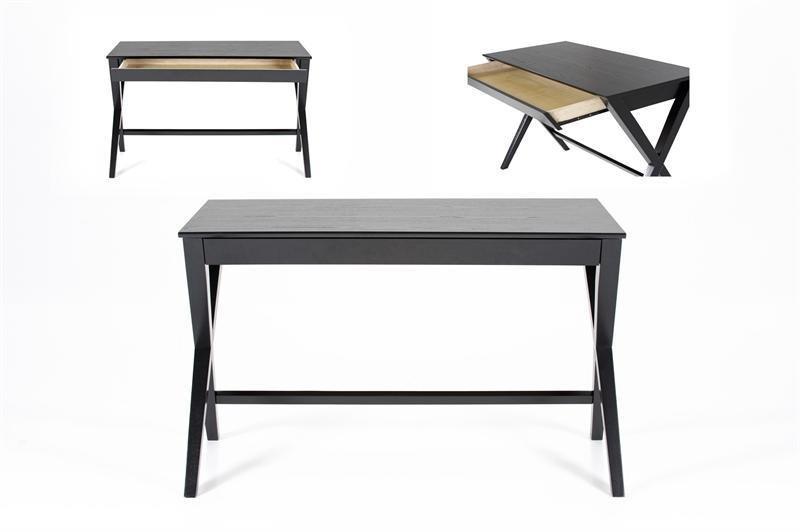 Topnotch Writek skrivebord med skuffe sort ZC-18